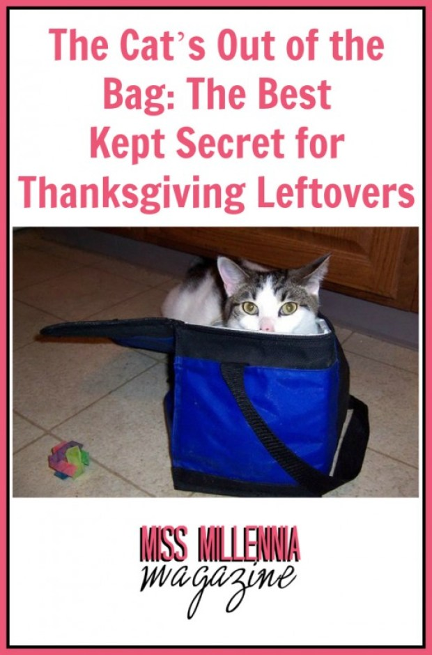 The Cat's Out of the Bag: The Best Kept Secret for Thanksgiving Leftovers