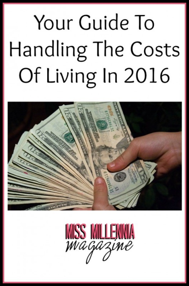 Your Guide To Handling The Costs Of Living In 2016