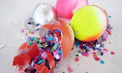 confetti easter egg