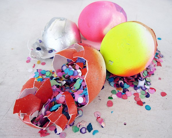 Creating an Easter Tradition: Confetti Eggs [Video]