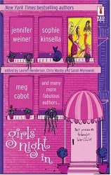 meg cabot, jennifer weiner, sophie kinsella, fun read, fun books, what to read, various authors, girls' night in