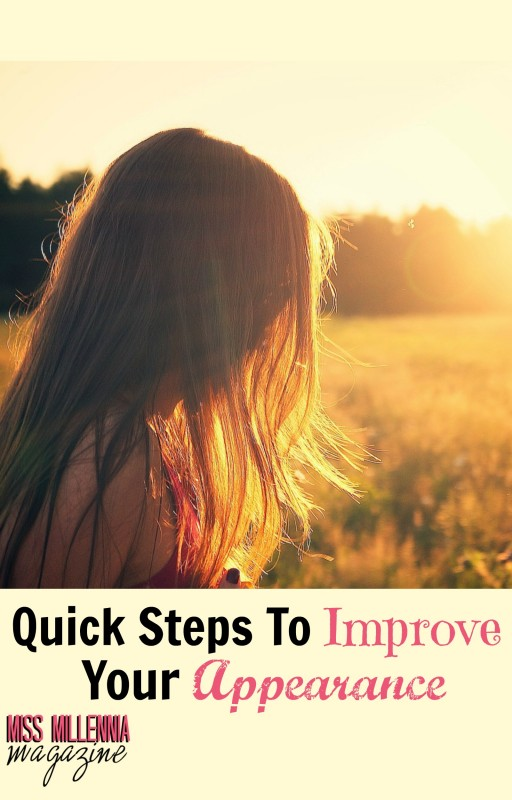 Quick Steps To Improve Your Appearance