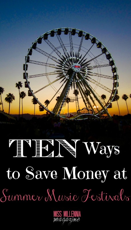 10 Ways to Save Money at Summer Music Festivals