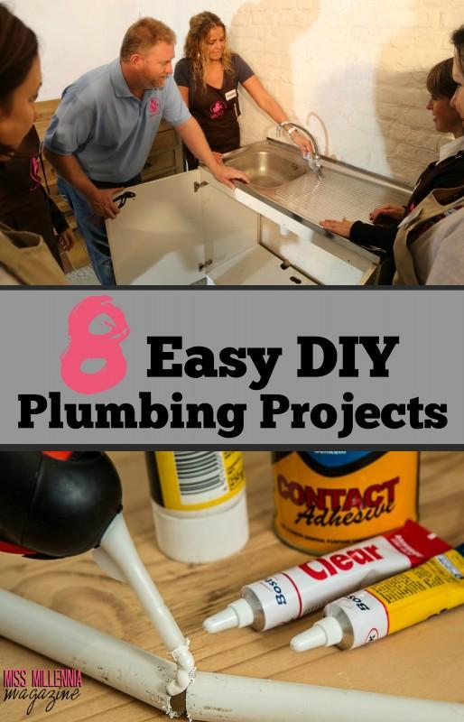 8 Easy DIY Plumbing Projects