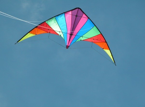 colorful flying kite