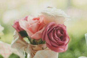 wedding planning steps flowers