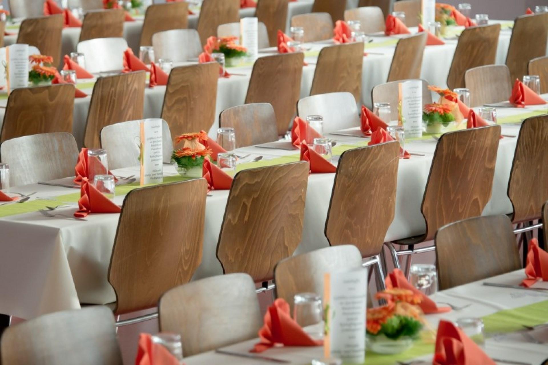 bridesmaid banquet hall
