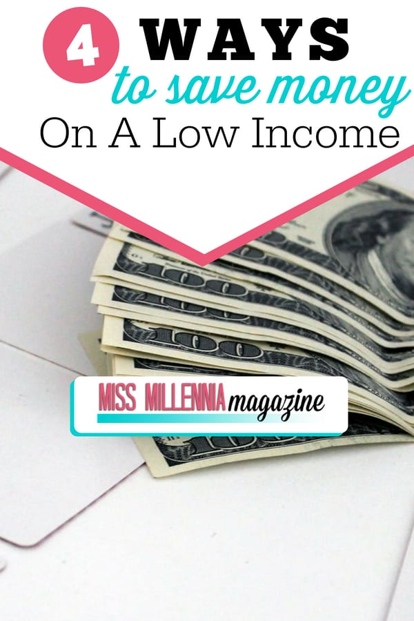 Saving money on a low income is NOT impossible to achieve. Here are four tips that those who make little can use to save money.