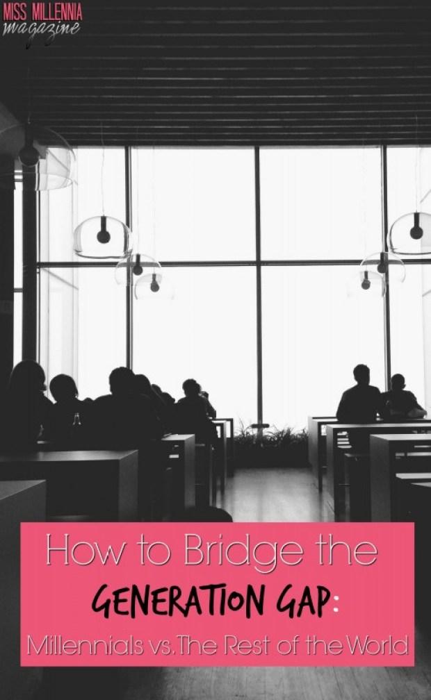 How to Bridge the Generation Gap