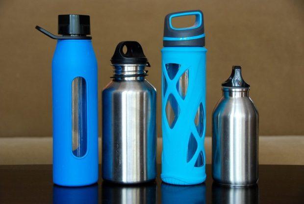 busy girl water bottle