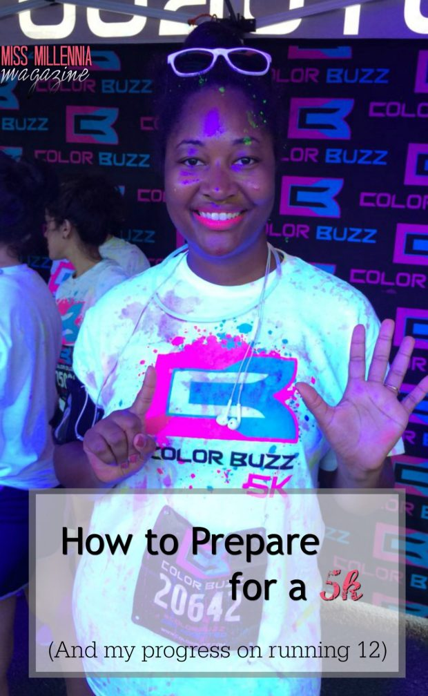 How to Prepare for a 5k (And my progress on running 12)