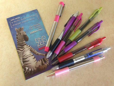 back to school pens