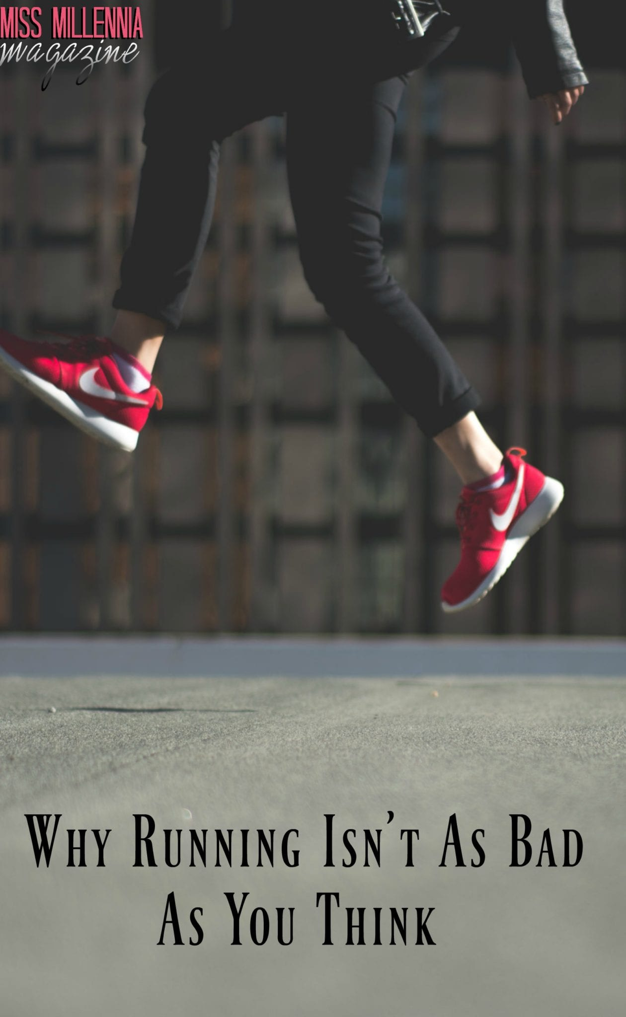 Why Running Isn't As Bad As You Think