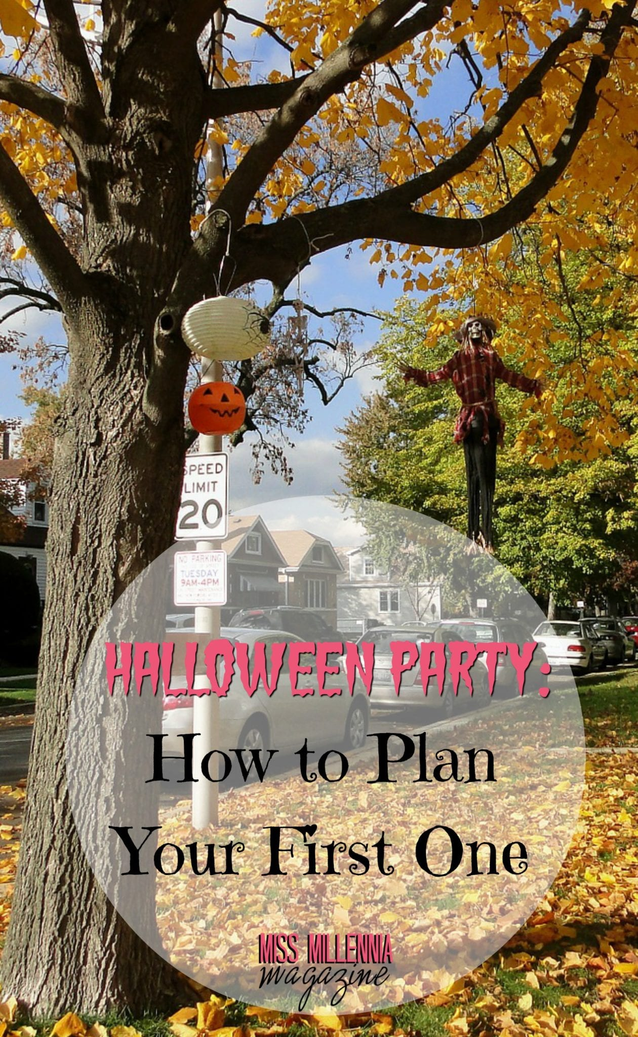 Plan your first spookfest with these cool ideas for a Halloween party.