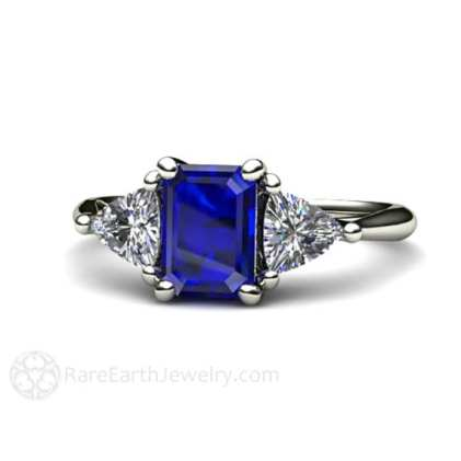 sapphire ring as engagement ring alternatives