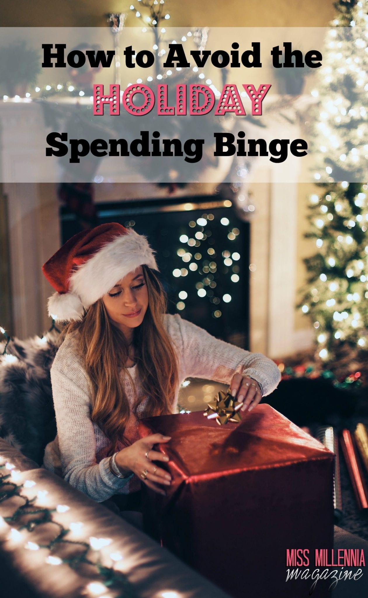 How to Avoid the Holiday Spending Binge