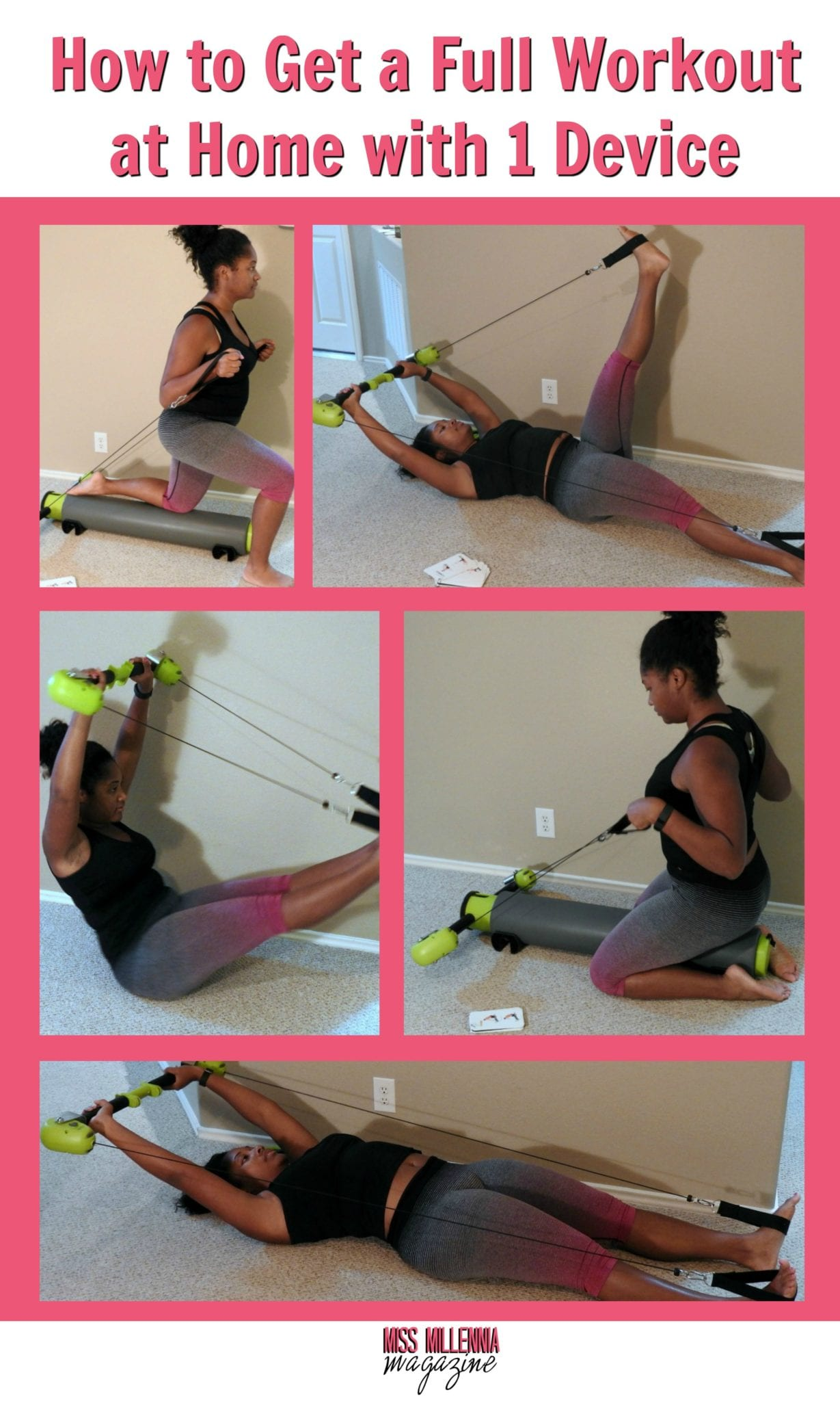 Want to learn a how to do a home workout without spending a fortune on equipment? Check out my tips! #BBMOT #ad