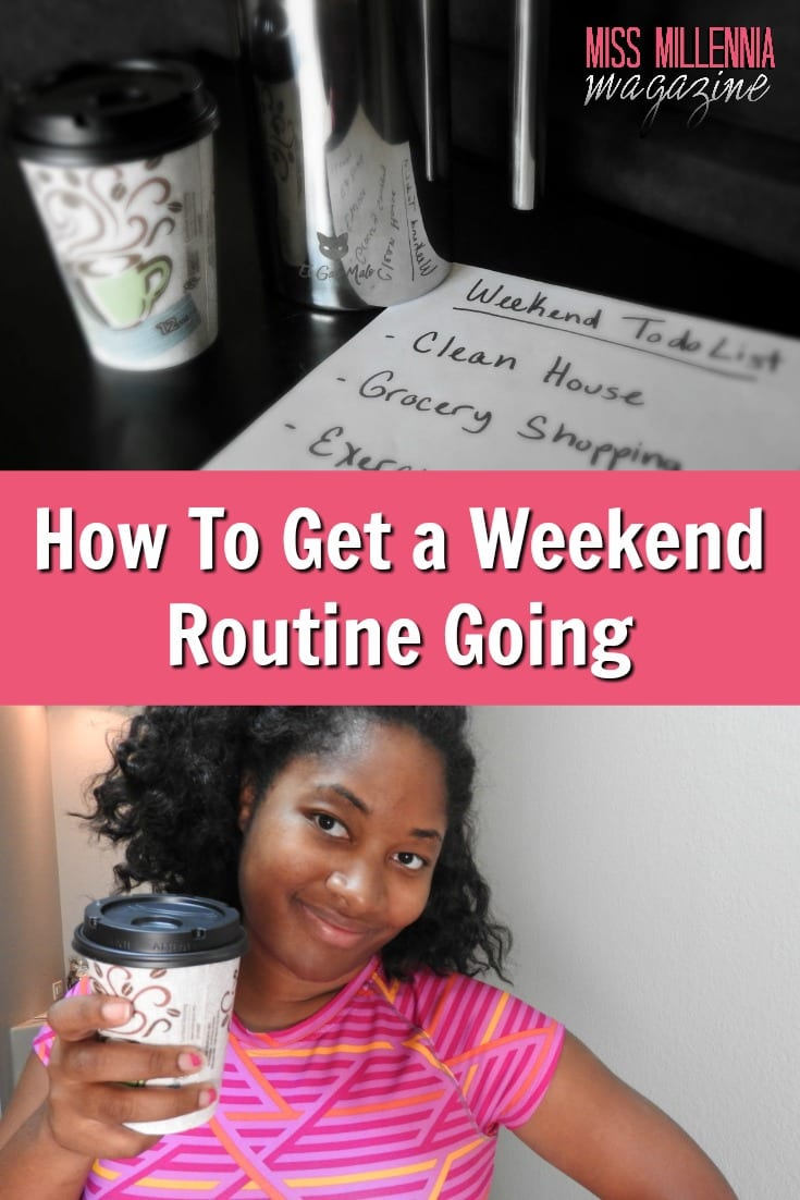 I always look forward to the weekend because I get things done! Here are tips on things you can do to be a true weekend warrior. #ad #CupForCrushingIt