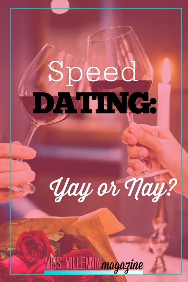 Before you write off speed dating as a viable option for finding 'the one', consider a few of the benefits and pitfalls of it in a little more depth.