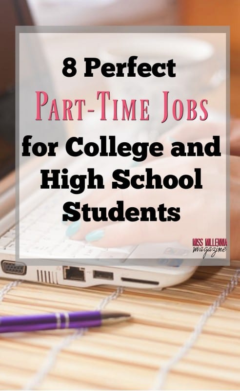 8 Perfect Part-Time Jobs for College and High School Students