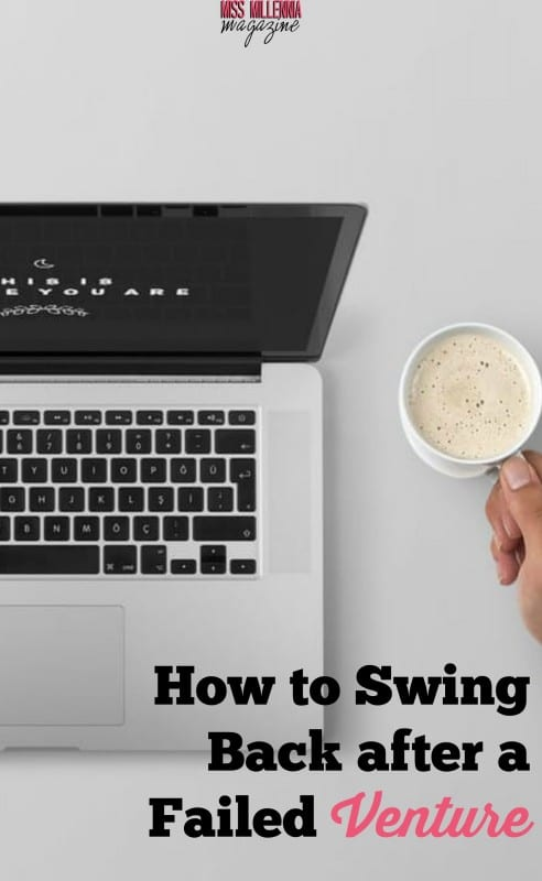How to Swing Back after a Failed Venture