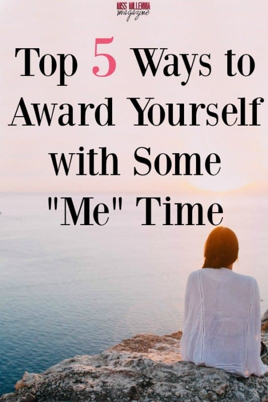 #ad How much time do you actually take for yourself in a given day? Here are 5 ways you can award yourself with some me time! #adv