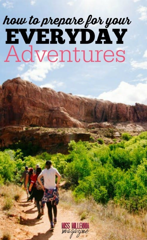As millennials, we love to get out and have adventures! Before you head out the door, check out our best tips for preparing for your everyday adventure! #ad #initsnacks #MissMillMag