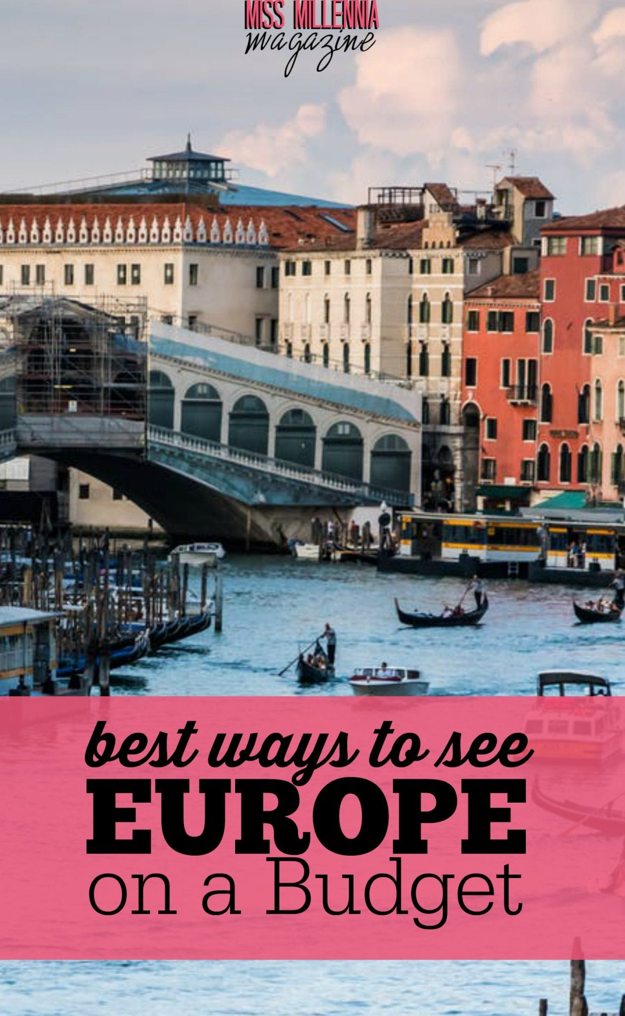 Dreaming of a European adventure? A trip to Europe may seem super expensive, but it is totally feasible to see Europe on a budget!