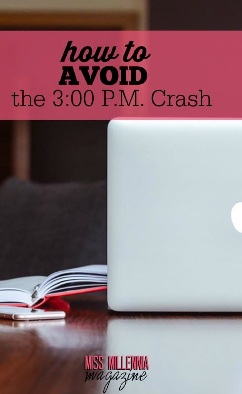Are you a victim of the 3:00 p.m. crash? What if I told you that there are ways to avoid crashing before your work day is over? Check out this article to learn more!