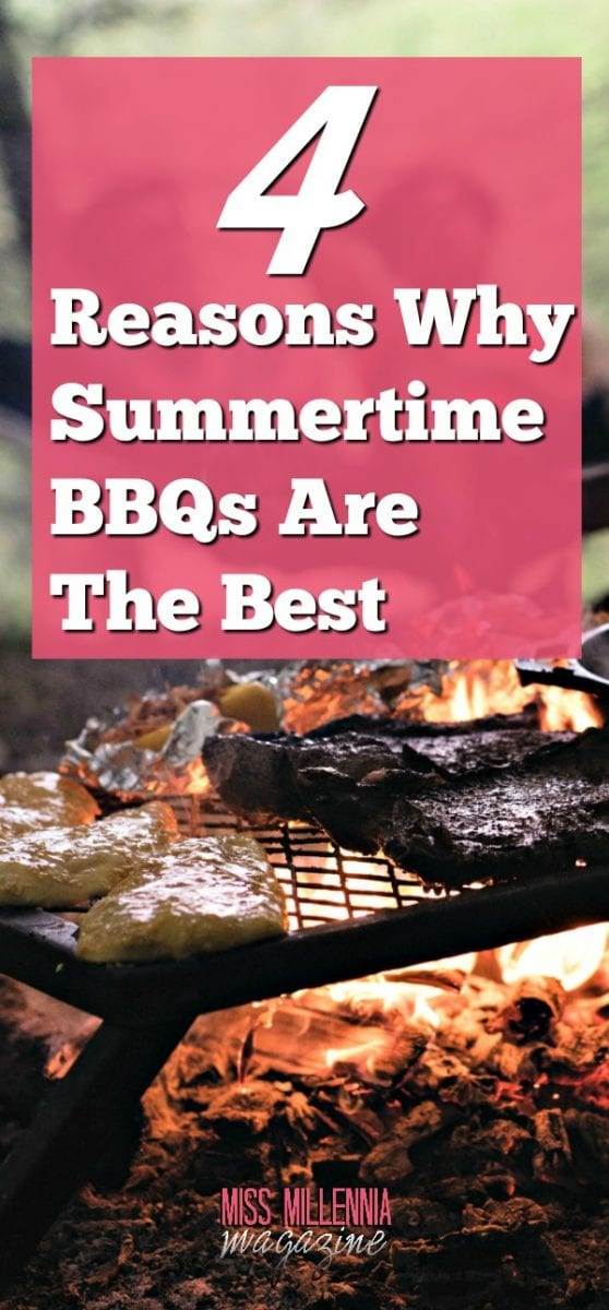 There are so many reasons why I think Summertime BBQs are so much better than other social gatherings, and I will count the ways.