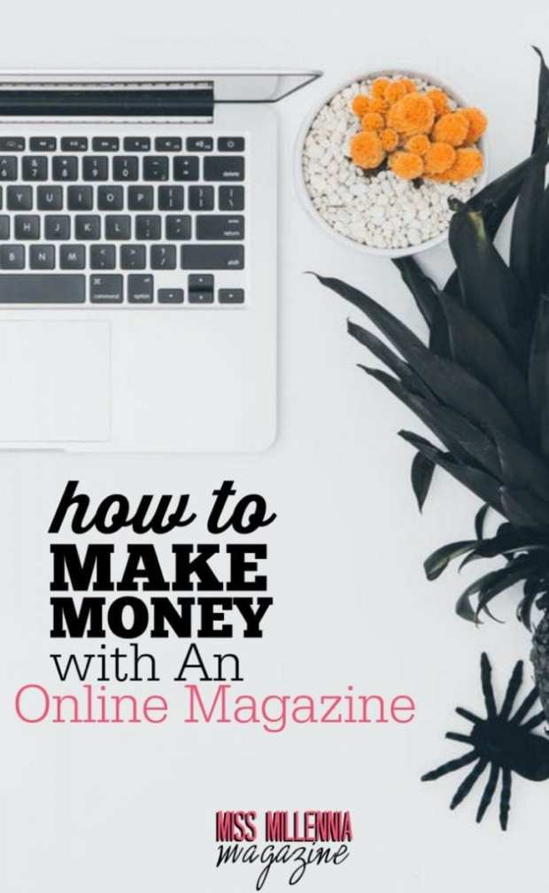 """There is one question I often get, way more than the other questions combined. """"How do you make money with an online magazine?"""" We've earned as much as $7,000 in a single month."""