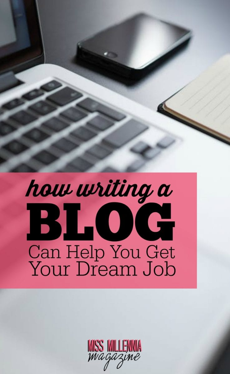 When you get to the point of job searching, sharing is still necessary. And you have to do it the right way. That's when writing a blog gets in the picture.
