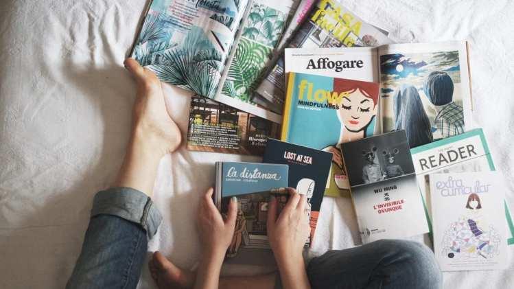Career-Driven Millennial Women read books
