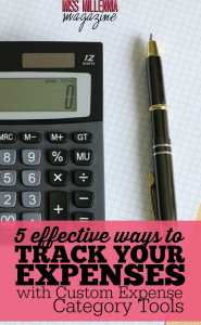 5 Effective Ways to Track Your Expenses with Custom Expense Category Tools