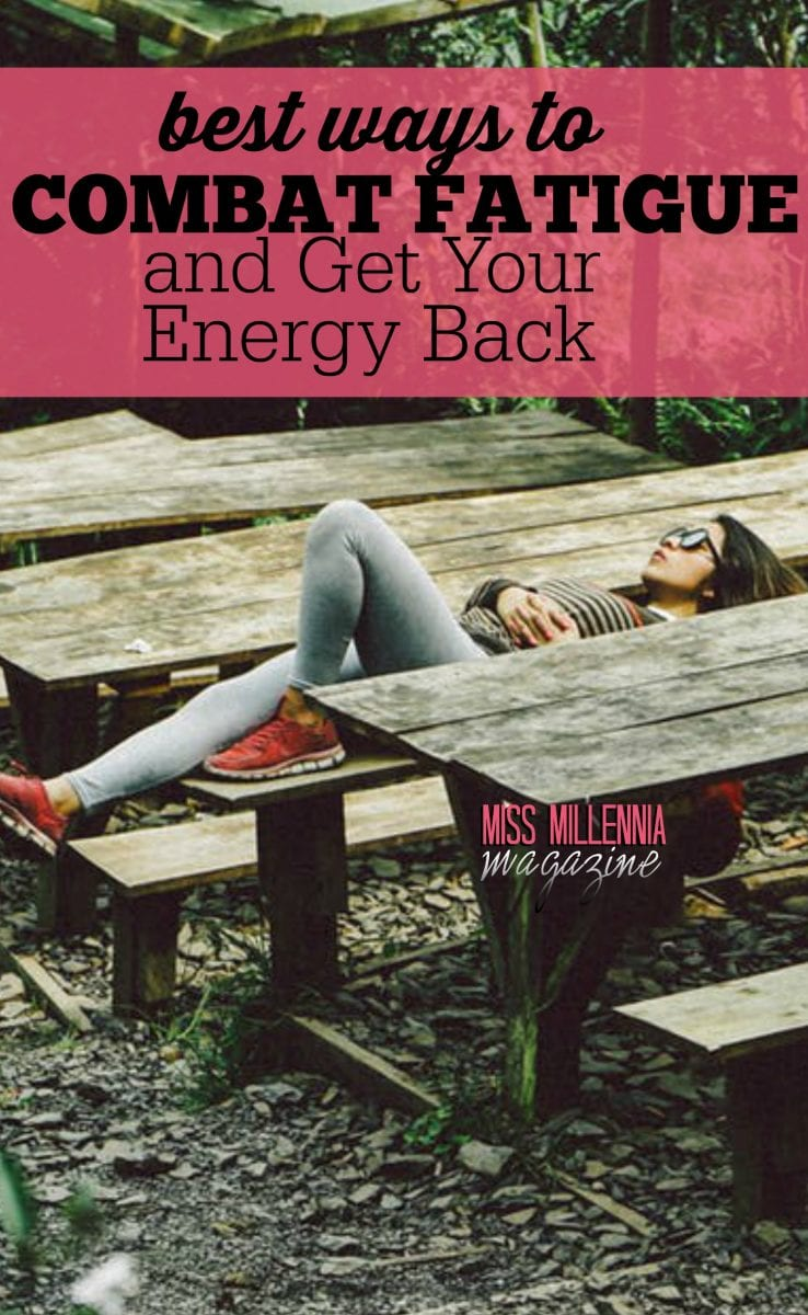 Staying strong and healthy is everyone's ultimate goal. Listed below are some of the helpful ways to combat fatigue and boost more energy into the body.