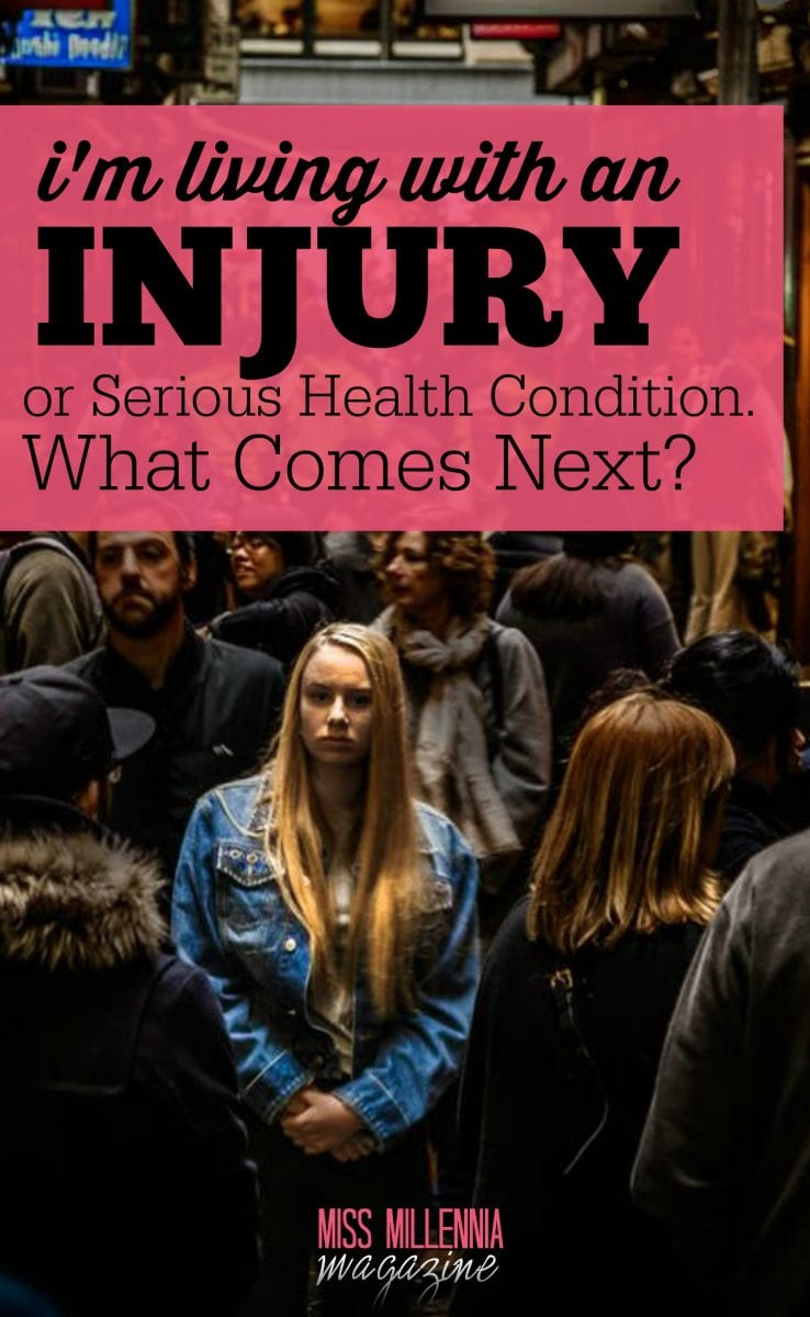 When injury and serious health condition happen, you might wonder what comes next. Here are a few things to think about and sensible changes to make.