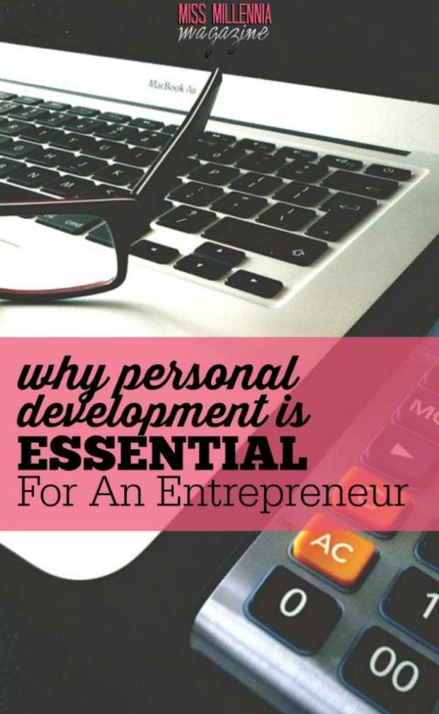 Personal development is important for entrepreneurs. It helps to keep you grounded, be a better employer, and it makes you continually improve in business.