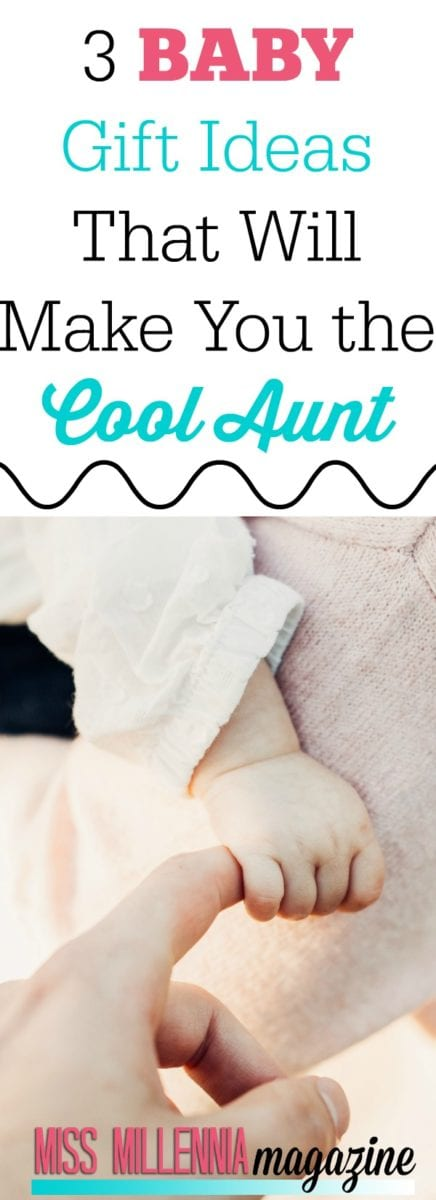 Aww! I love baby gift idea 2. I want to be a cool aunt too!