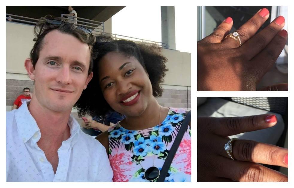Chris and jasmine engagement story