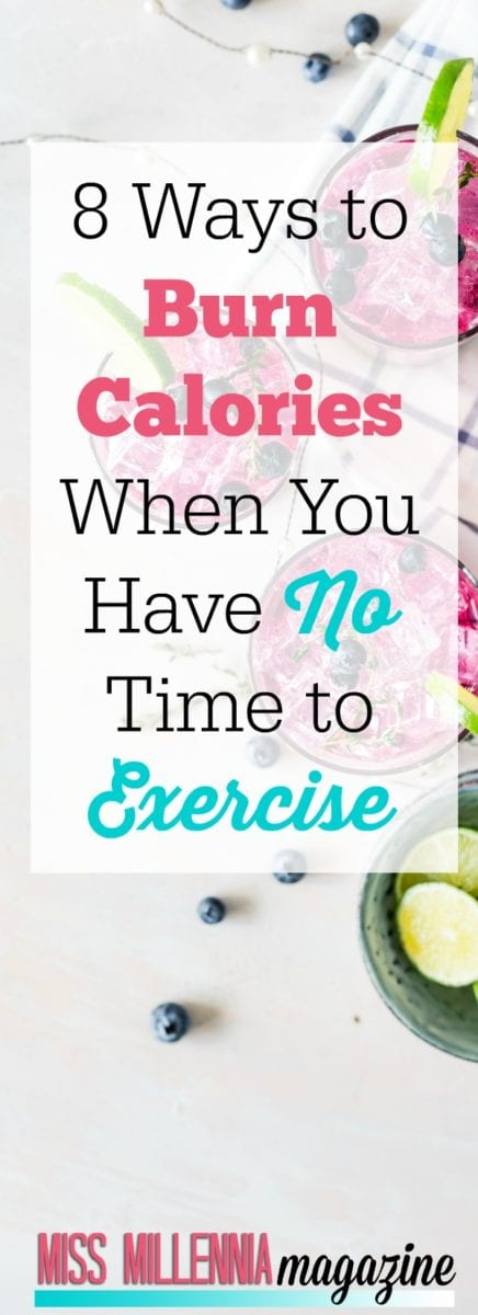 Fitness is important. But the reality is there are not enough hours in the day. I share some tips I've learned to burn calories when I am too busy for the gym.