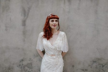 this is a perfect dress for a casual bride