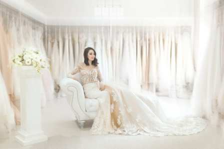 this is a perfect dress for a dreamer bride