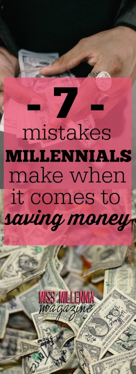 Millennials are capable of saving money; it's just they're not aware of the mistakes that they're unconsciously doing over the years.