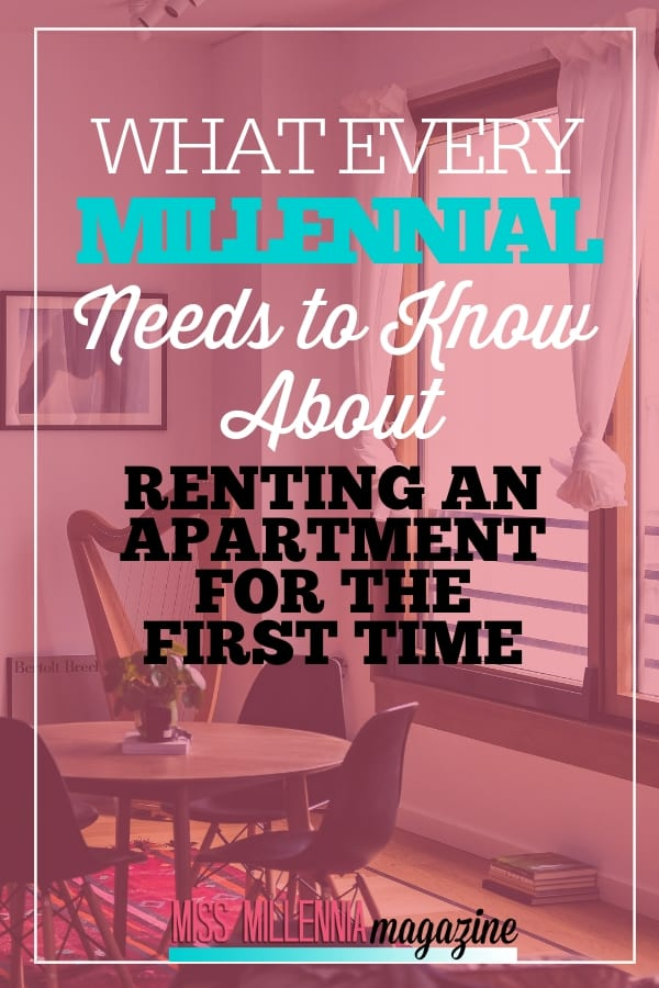 Finding information on renting an apartment can be overwhelming, so I want to share a few tips with you that should make the process less intimidating.
