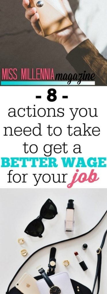 If you know you can have a better wage, you need to take action now to get what you deserve. There are several approaches you can try.
