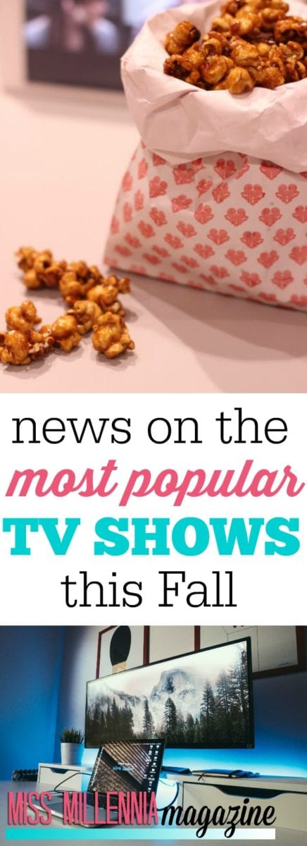 The nights are getting longer, the weather is getting colder. Here are the most popular TV shows to binge-watch this Fall.