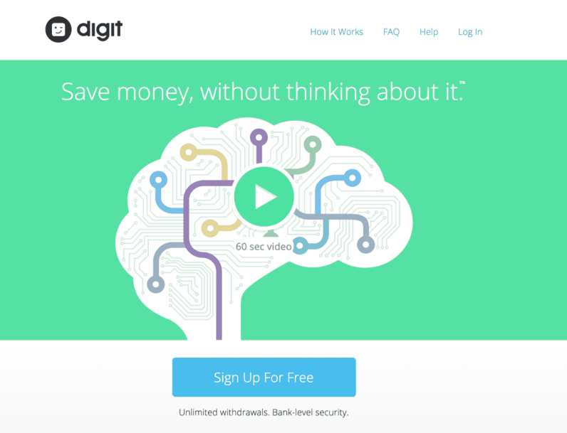 DIgit makes it easy to manage your money