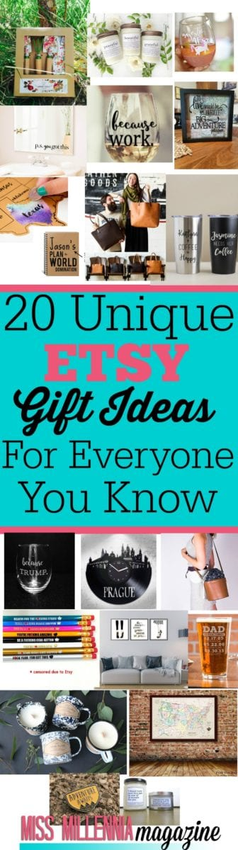 Having trouble finding the perfect holiday gifts? These fun and funky Etsy gift ideas will make the holidays merry and bright for everyone on your list!