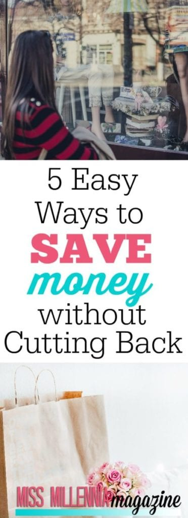It's time to get your sensible money-saving hat on and create a plan of action. Here are 4 easy ways to save your money without sacrificing too much.