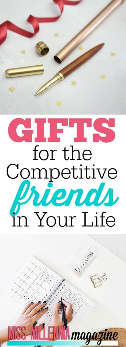Yes, we all have that friend that has a bit of a competitive streak. Check out these gifts that can quench the thirst of your competitive friends.